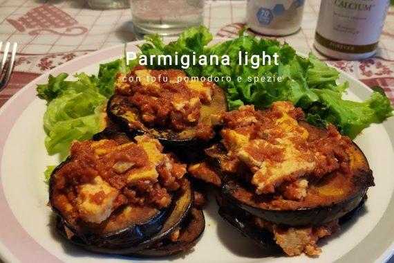 Parmigiana vegana al tofu